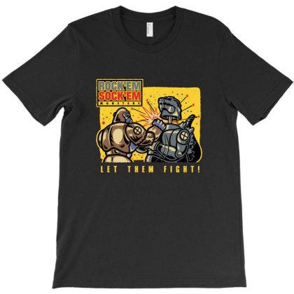 Let'em Fight T-shirt Designed By Grider