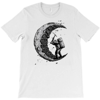 Digging The Moon T-shirt Designed By Jackquelywestday