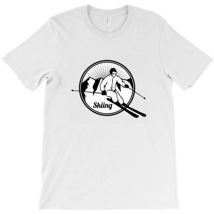 Extreme Winter Sports On Snow T-shirt Designed By Willo