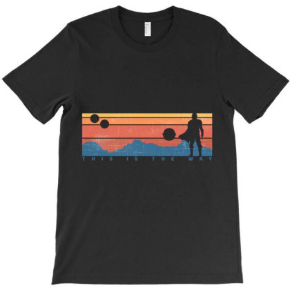 This Is The Way Retro Classic T Shirt T-shirt Designed By Wened313
