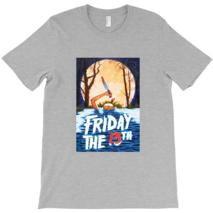 Friday The 13th Original Movie T-shirt Designed By Willo