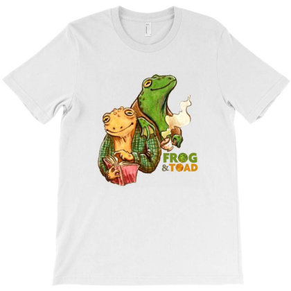 Adorable Frog And Toad T-shirt Designed By Willo