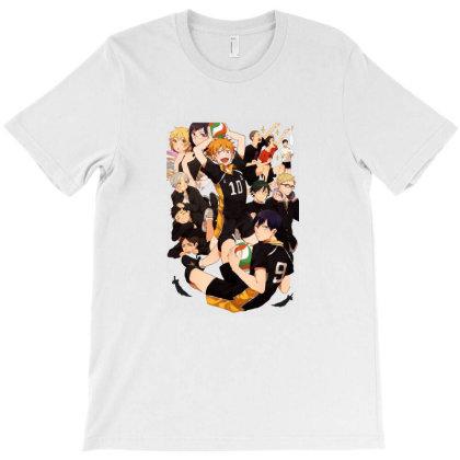 Haikyu T-shirt Designed By Willo