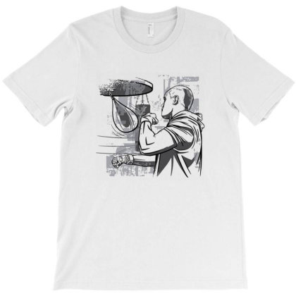 Boxing Sport T-shirt Designed By Blowerns