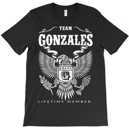 Gonzales Lifetime Member T-shirt Designed By Davidph