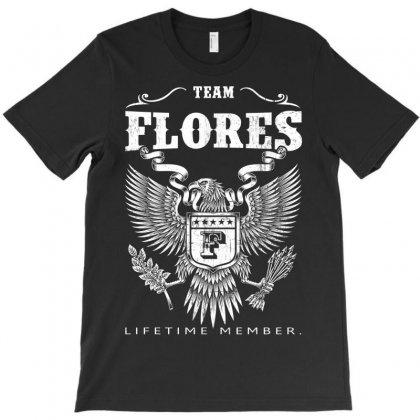 Flores Lifetime Member T-shirt Designed By Davidph