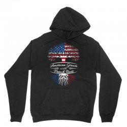 American grown with french roots Unisex Hoodie | Artistshot