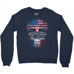American grown with french roots Crewneck Sweatshirt | Artistshot