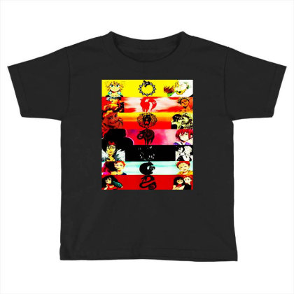 Deadly Sins Tees Graphics Toddler T-shirt Designed By Suettan