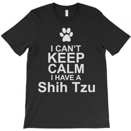 Pets Shih Tzu T-shirt Designed By Mir Art