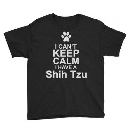 Pets Shih Tzu Youth Tee Designed By Mir Art