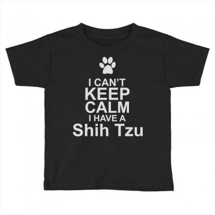Pets Shih Tzu Toddler T-shirt Designed By Mir Art