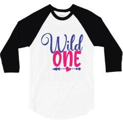 wild one 3/4 Sleeve Shirt   Artistshot