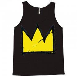 Basquiat crown Tank Top   Artistshot