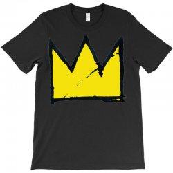 Basquiat crown T-Shirt   Artistshot