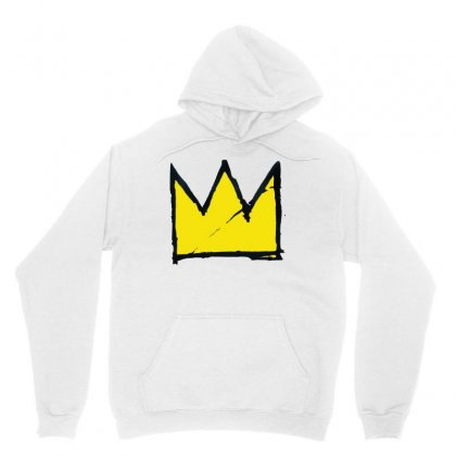 Basquiat Crown Unisex Hoodie Designed By Benny