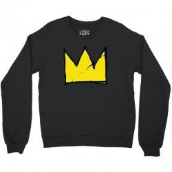 Basquiat crown Crewneck Sweatshirt   Artistshot