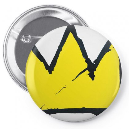 Basquiat Crown Pin-back Button Designed By Benny