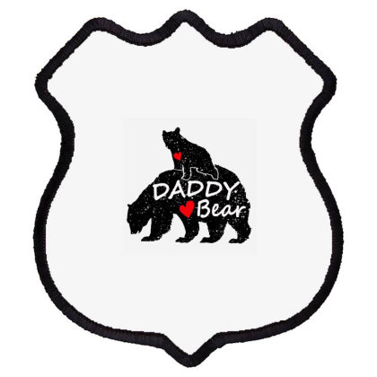 Daddy Bear Shield Patch Designed By Romeo And Juliet