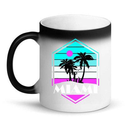 Miami Beach Souvenir Vintage 80s Magic Mug Designed By Suettan