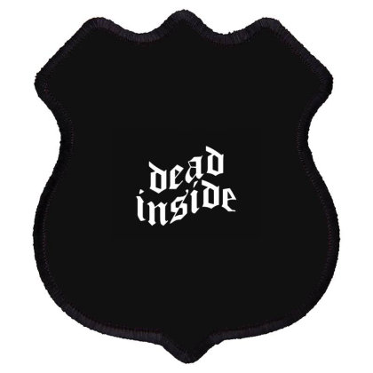 Dead Inside Shield Patch Designed By Romeo And Juliet