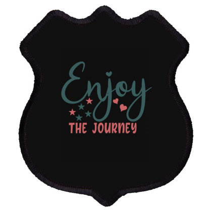 Enjoy The Journey Shield Patch Designed By Gnuh79