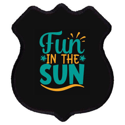 Fun In The Sun Shield Patch Designed By Gnuh79