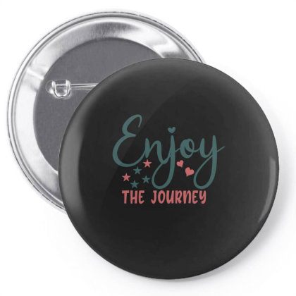 Enjoy The Journey Pin-back Button Designed By Gnuh79