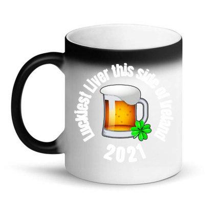 Luckiest Liver Magic Mug Designed By Joe Art
