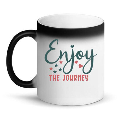 Enjoy The Journey Magic Mug Designed By Gnuh79