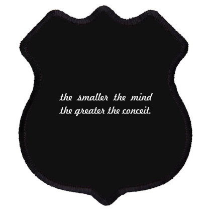 The Smaller The...