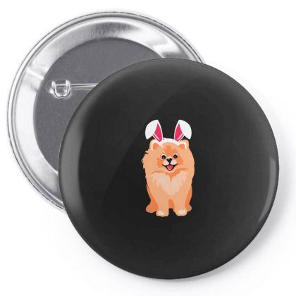 Cute Pomeranian Pin-back Button Designed By Romeo And Juliet