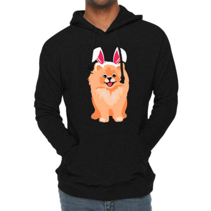 Cute Pomeranian Lightweight Hoodie Designed By Romeo And Juliet