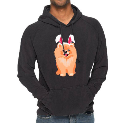 Cute Pomeranian Vintage Hoodie Designed By Romeo And Juliet