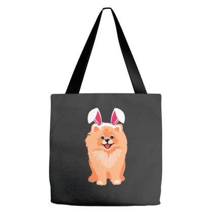 Cute Pomeranian Tote Bags Designed By Romeo And Juliet