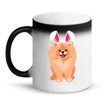 Cute Pomeranian Magic Mug Designed By Romeo And Juliet