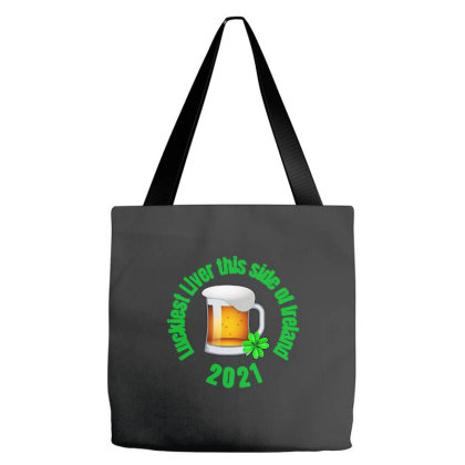 Luckiest Liver Tote Bags Designed By Joe Art