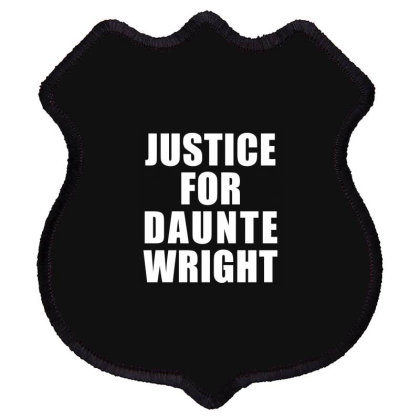 Justice For Daunte Wright Shield Patch Designed By Citron