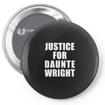 Justice For Daunte Wright Pin-back Button Designed By Citron