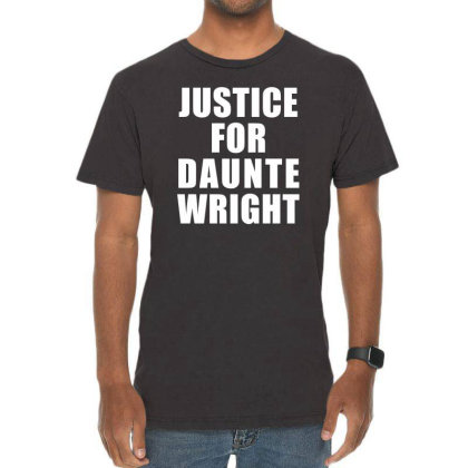Justice For Daunte Wright Vintage T-shirt Designed By Citron