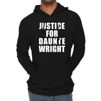 Justice For Daunte Wright Lightweight Hoodie Designed By Citron