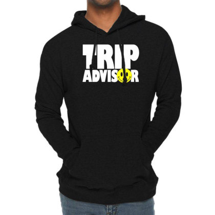 Funny Trip Advisor, Ideal Gift, Birthday Present Lightweight Hoodie Designed By Wanzinx