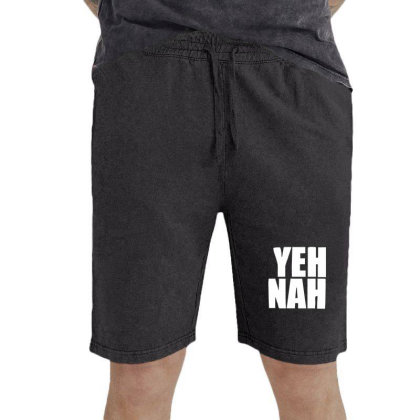 Funny Yeh, Nah Vintage Short Designed By Wanzinx
