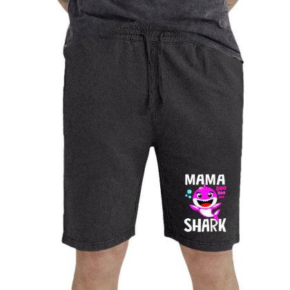 Mama Shark Doo Doo Shirt Vintage Short Designed By Suettan