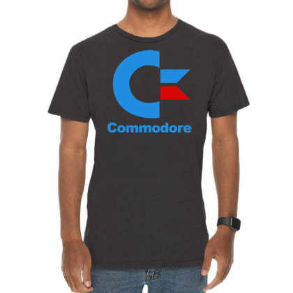 Für Gamer Commodore Computer Logo Retro Cool Fun Vintage T-shirt Designed By Wanzinx