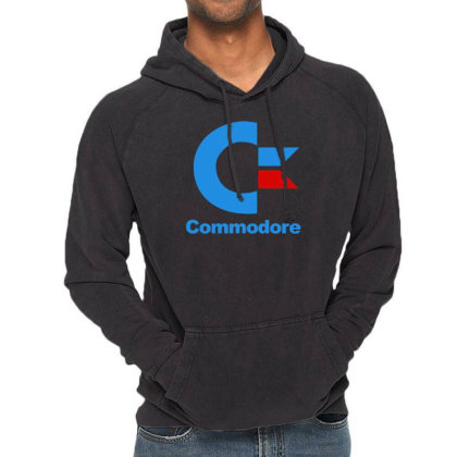 Für Gamer Commodore Computer Logo Retro Cool Fun Vintage Hoodie Designed By Wanzinx