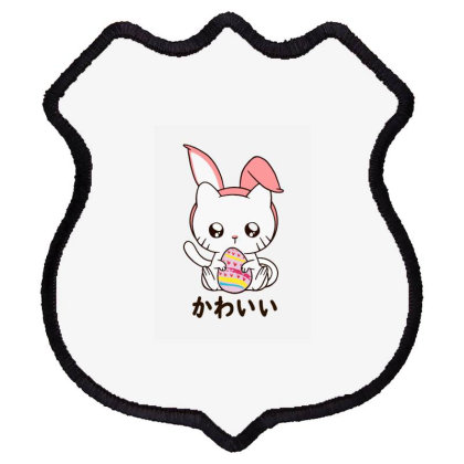 Cute Kitten Happy Shield Patch Designed By Romeo And Juliet