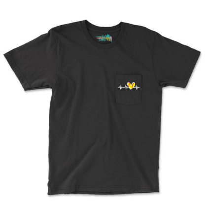 Cute Design For Women Pocket T-shirt Designed By Romeo And Juliet
