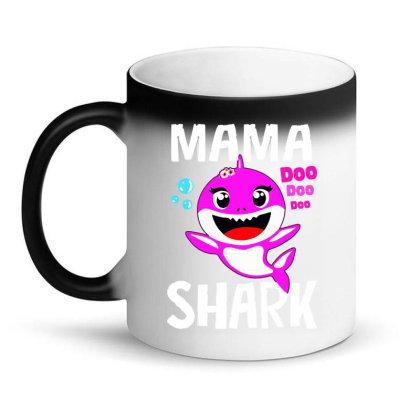 Mama Shark Doo Doo Shirt Magic Mug Designed By Suettan