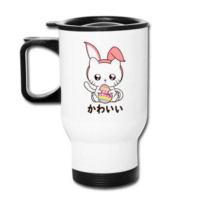 Cute Kitten Happy Travel Mug Designed By Romeo And Juliet